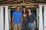 Winnie, Andrew and I