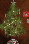 An on the fly Charlie Brown Christmas tree