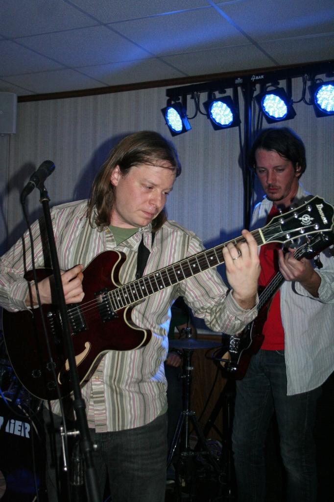 Justin Cutway & Shawn Williamson of Trendlenburg Band 2013