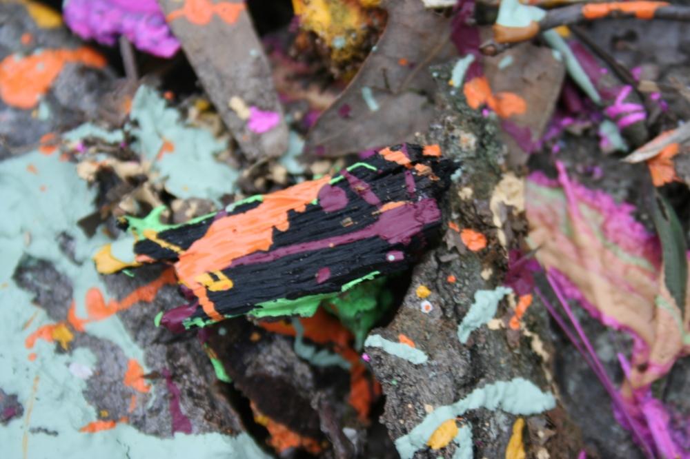 Paint splattered fun