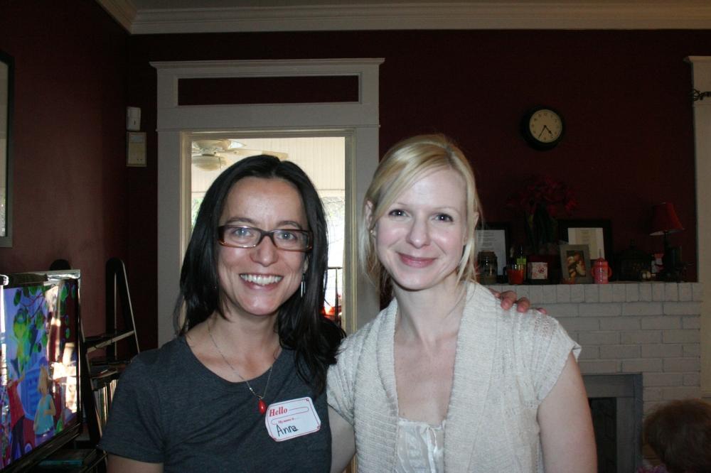 Heather(Hostess) and I